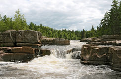Canadian river Stock Images