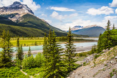 Canadian River in the Rocky Stock Photo