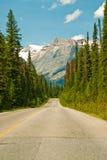Canadian Road Royalty Free Stock Photos