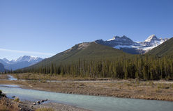 Canadian rockie mountains Stock Photo
