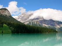 Canadian Rockies. A Beautiful View of the Canadian Rockies in Summer royalty free stock photography