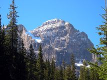 Canadian Rockies. Part of the Canadian Rockies in Alberta, Canada Stock Photography