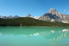 Canadian Rockies in Banff National Park, Alberta, Canada Royalty Free Stock Photography