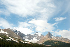 Canadian Rockies in Banff National Park, Alberta, Canada Royalty Free Stock Images