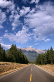 Canadian Rockies cloudscape royalty free stock photography
