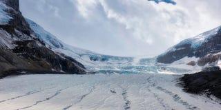 Canadian Rockies -Icefields Glacier Stock Photography