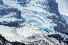 Canadian Rockies -Icefields Glacier stock image