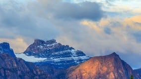 Canadian Rockies stock video footage