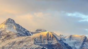 Canadian Rockies stock footage