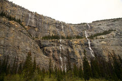 Canadian Rockies from the Icefields Parkway Royalty Free Stock Images