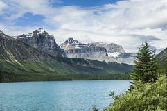 Canadian Rockies, Lake, Canada Stock Photo