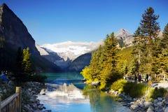 Canadian Rockies, Lake Louise, Banff National Park Stock Photography
