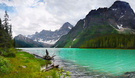 Canadian Rockies  Lake Mountains Banff Alberta Stock Photos