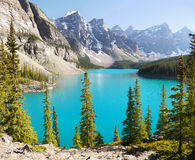Canadian Rockies,  Moraine Lake Stock Photography