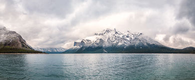 The Canadian Rockies mountains Royalty Free Stock Image