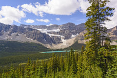 Canadian Rockies Panorama Royalty Free Stock Photography