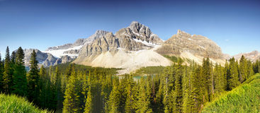 Canadian Rockies Panorama Stock Photos