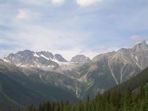 Rockies. The canadian Rockies royalty free stock images