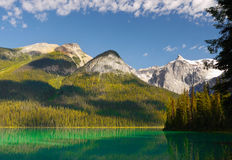 Canadian Rocky Mountain, Emerald Lake Stock Images