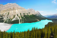 Canadian Rocky Mountain Parks Royalty Free Stock Image