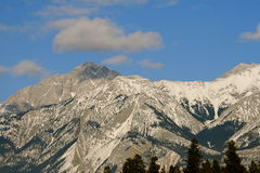 Canadian Rocky Mountains. Mountains and wild forests are natural treasure of canada Stock Photography
