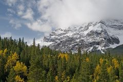 Canadian Rocky Mountains Stock Photo