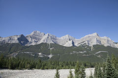 Canadian Rocky Mountains, British Columbia, Canada Royalty Free Stock Photography
