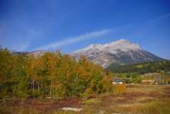 Canadian Rocky Mountains in early autumn Royalty Free Stock Photography