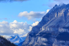 Canadian Rocky. The Canadian Rockies comprise the Canadian segment of the North American Rocky Mountains Stock Photo