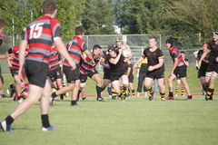 Canadian Rugby Competition Royalty Free Stock Photography