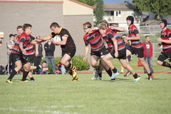 Canadian Rugby Competition stock image