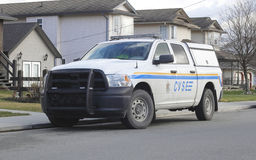 A Canadian Safety Enforcement Vehicle Stock Image