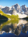 Canadian Scenic Landscape, Moraine Lake Royalty Free Stock Image