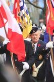 Canadian Senior War Veteran Stock Image