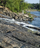 Canadian shield rocks Royalty Free Stock Images