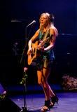 Canadian singer Melanie Dekker Royalty Free Stock Photos