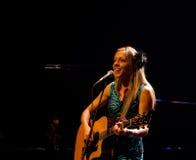 Canadian singer Melanie Dekker Royalty Free Stock Images