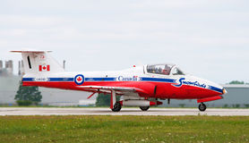 Canadian Snowbird Airplane Royalty Free Stock Photo