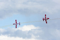 Canadian Snowbirds aerobatic team Royalty Free Stock Images