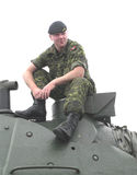 Canadian Soldier Stock Photography