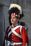 Canadian soldier Stock Photo
