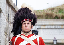 Canadian Soldier Royalty Free Stock Photography
