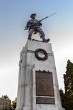 Canadian Soldier Statue at Victoria Stock Photography