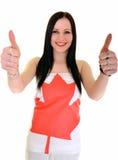 Canadian Sportsfan Stock Image