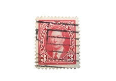 Canadian stamp isolated #2 Stock Photos