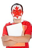 Canadian student Royalty Free Stock Photos