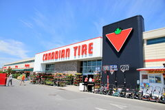 Canadian Tire Royalty-vrije Stock Fotografie