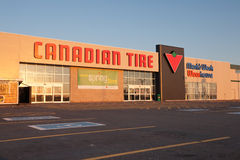 Canadian Tire Photographie stock libre de droits
