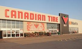 Canadian Tire almacena Imágenes de archivo libres de regalías