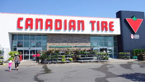 Canadian Tire Store Stock Image